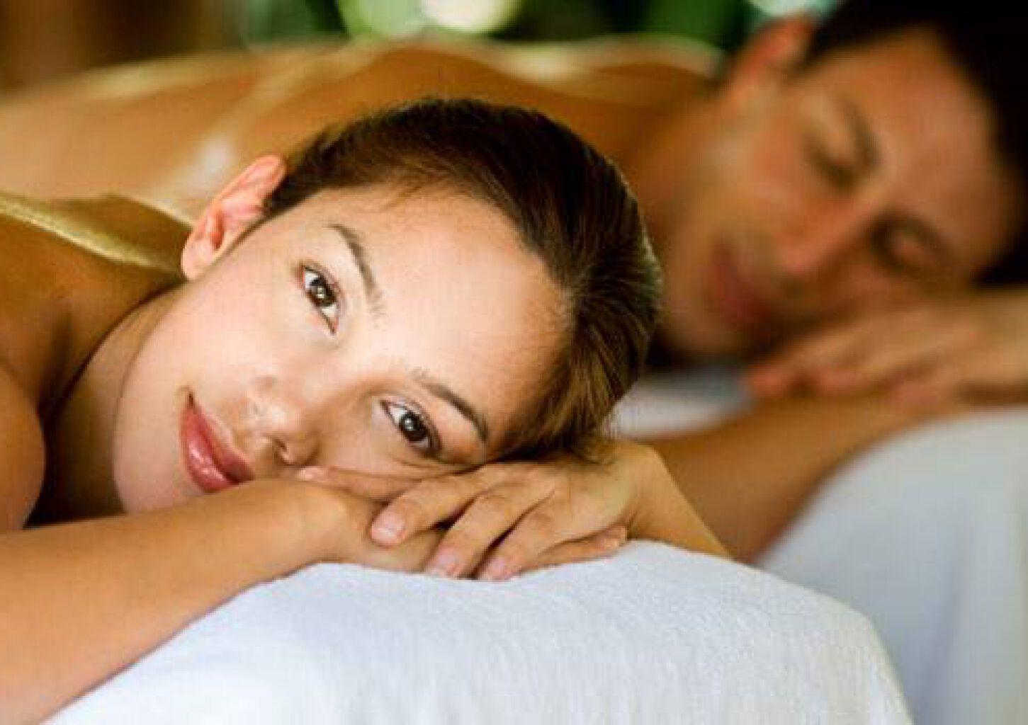 Эротический массаж для пар